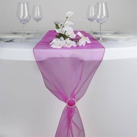 Organza Table Runner - Fushia