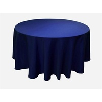 Round Tablecloth 275cm (Diameter) - Navy