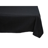 Tablecloth Square  275cm - Black