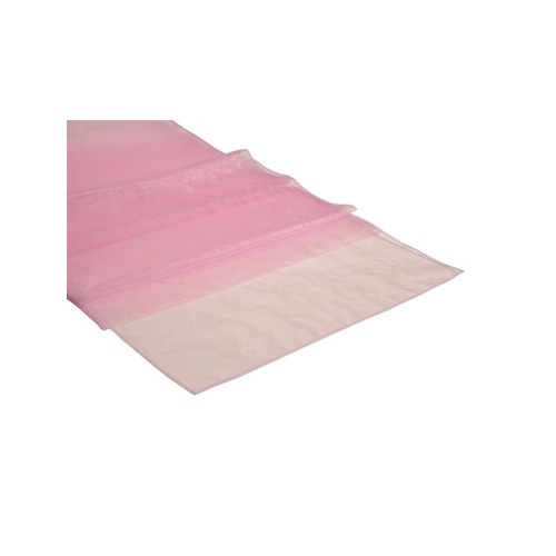 Organza Table Runner - Light Pink