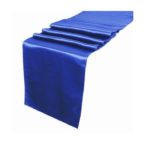 Satin Table Runner - Royal Blue